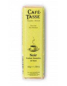 Café-Tasse белгийски шоколад- черен с пралина и юзу